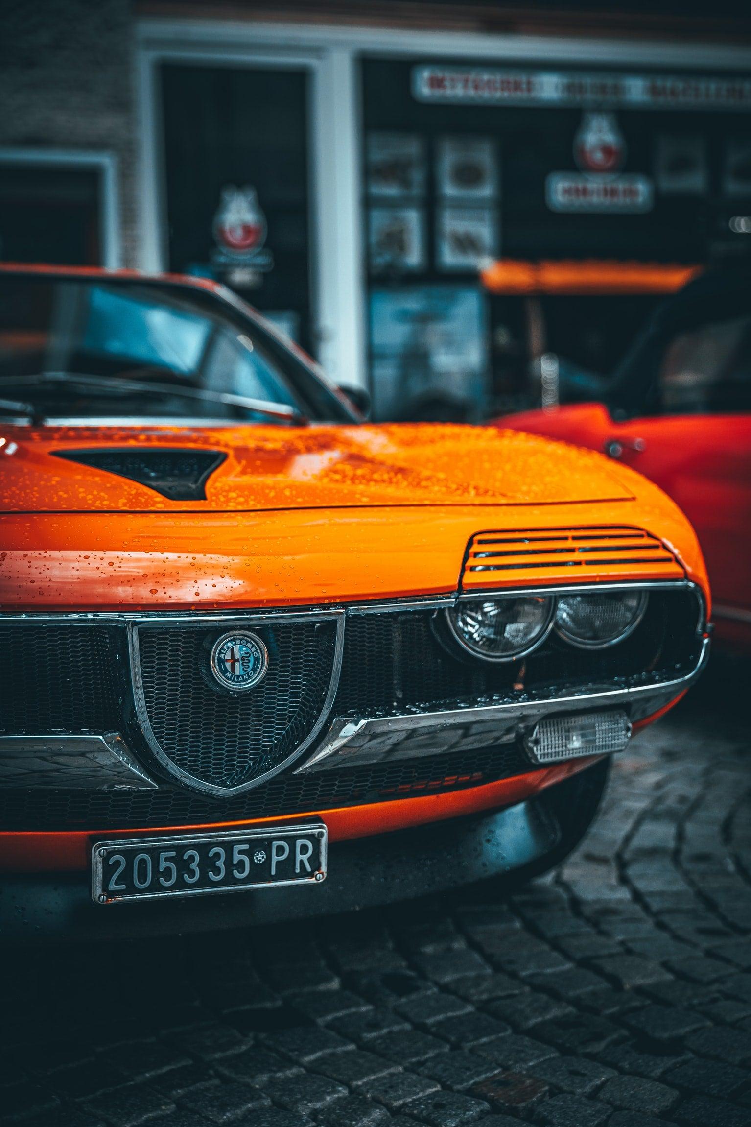 Alfa Romeo Montreal – Those headlights…