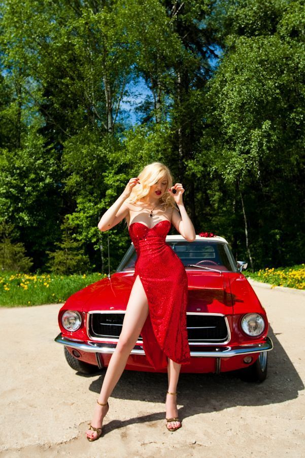 Mustang Car Girl –   #car #Girl #Mustang