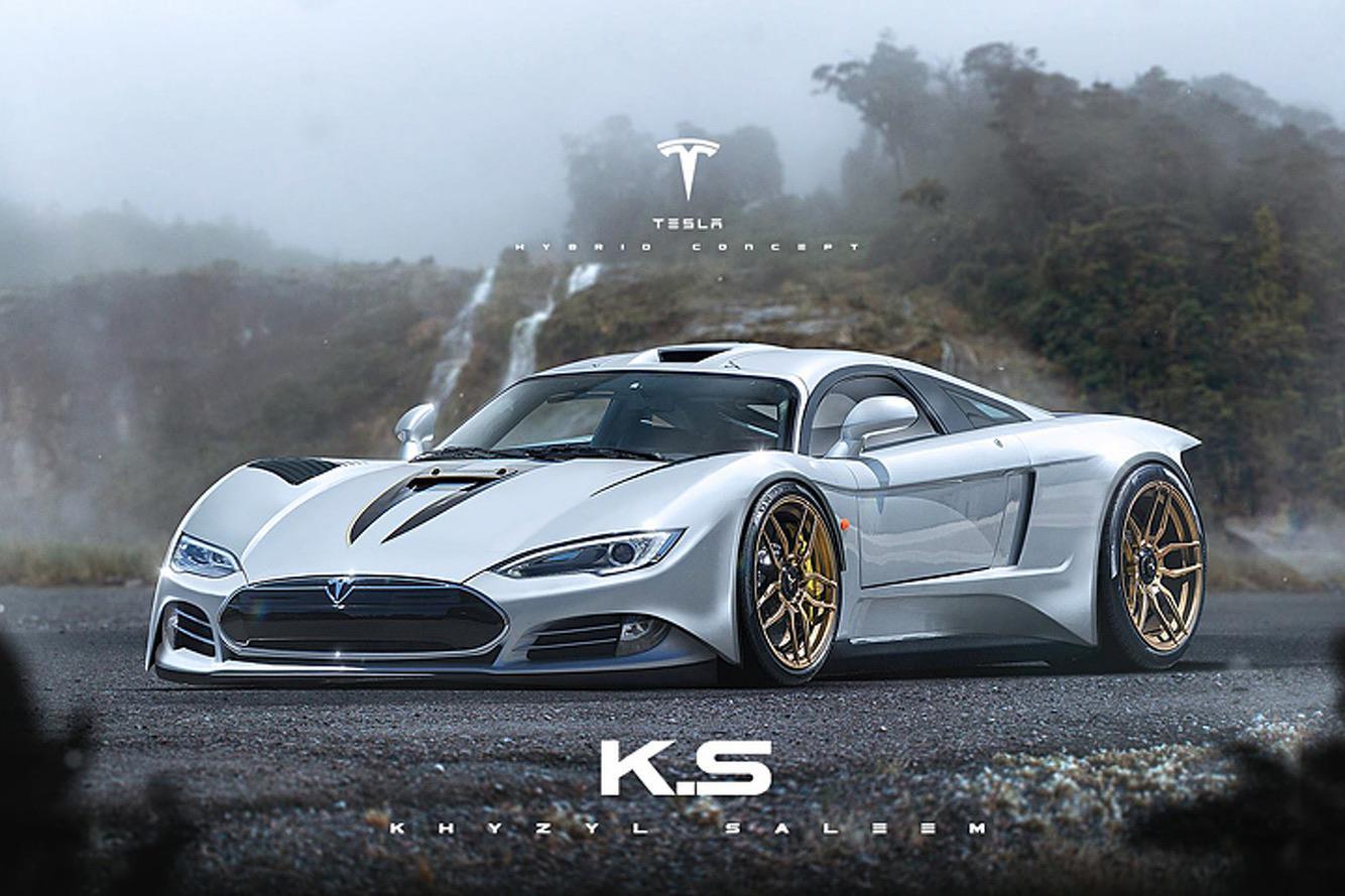 Khyzl Saleem – Tesla Supercar Concept