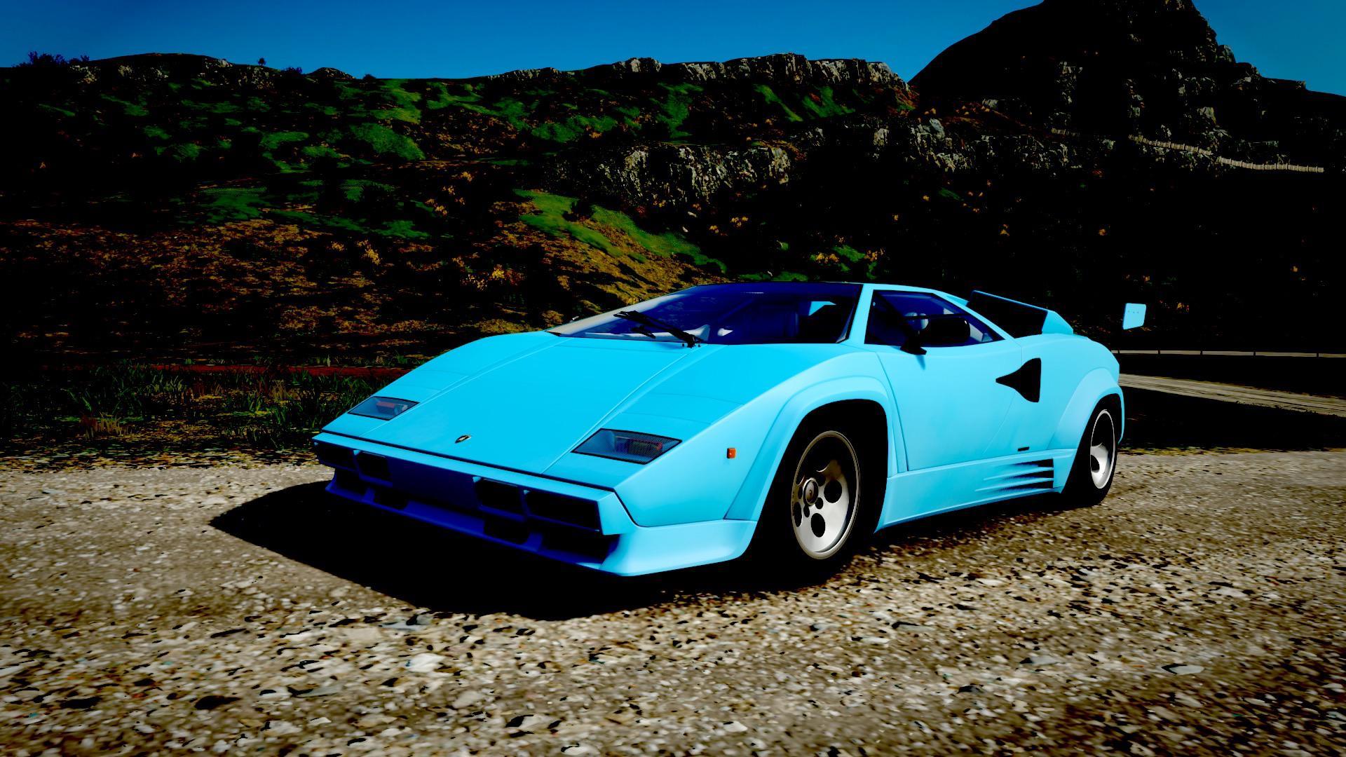 Lamborghini Countach in FH4