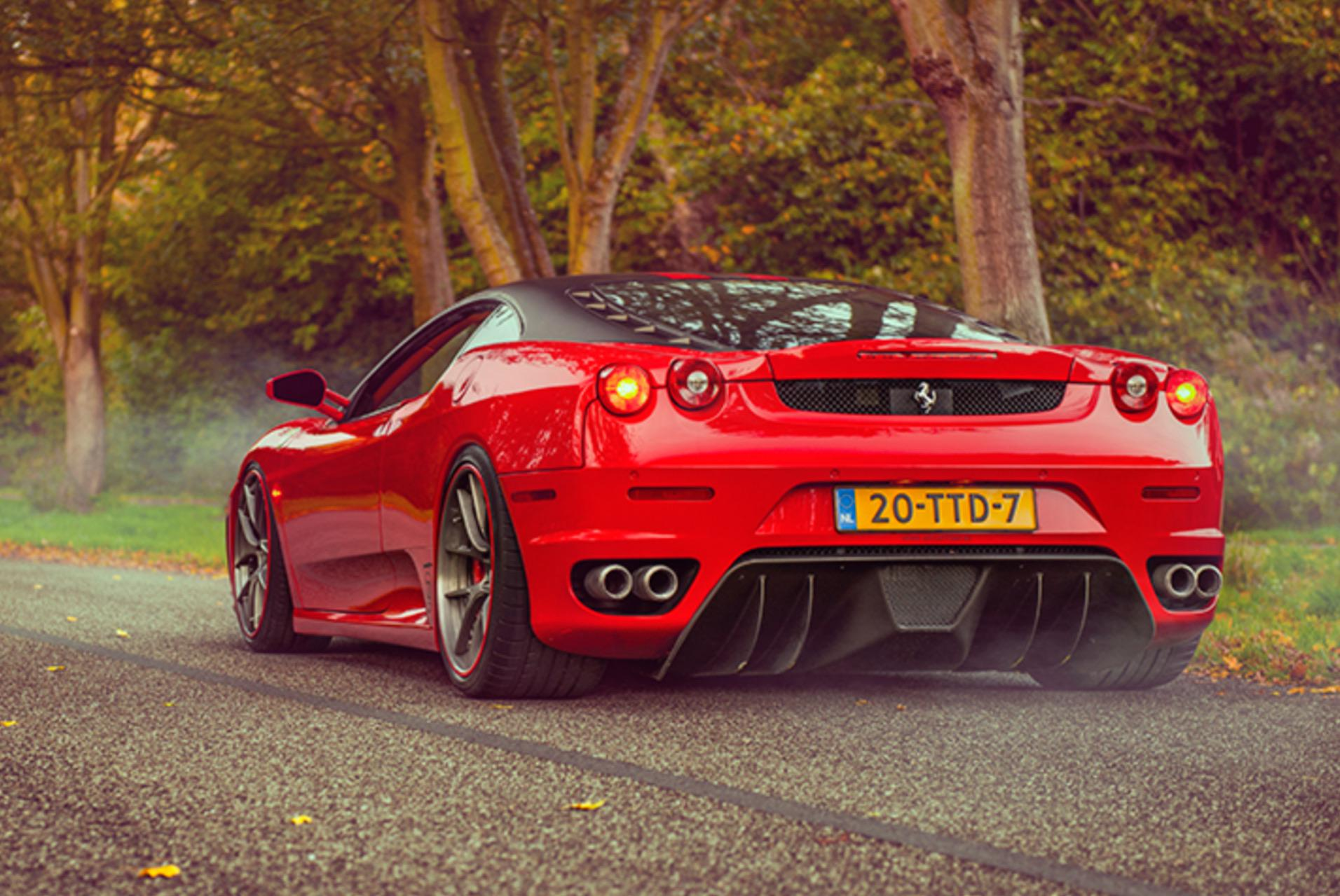 Gorgeous Red Ferrari F430