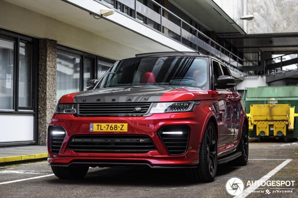 Land Rover Urban Range Rover Sport SVR 2018 – 23 March 2019 – Autogespot
