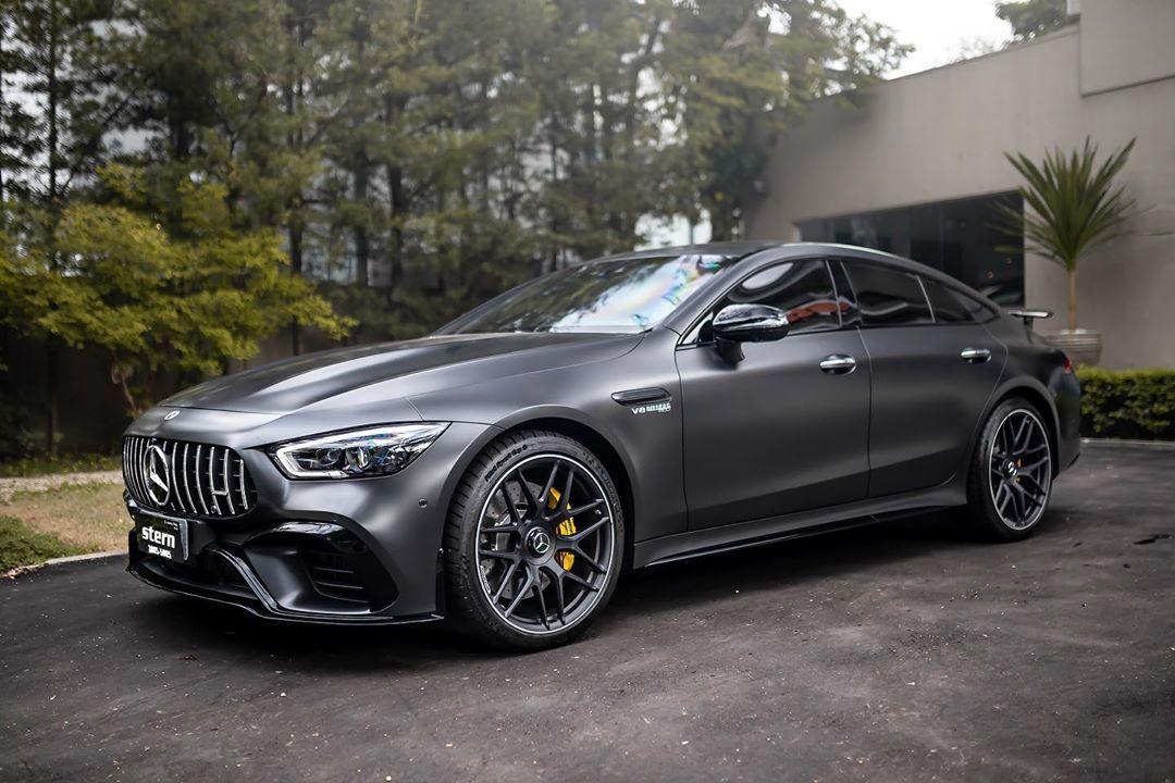 """Stern Import on Instagram: """"Novidade em nosso estoque. Mercedes-Benz AMG GT 63s 4-Door Coupé, preta fosca com interior preto, 2018/2019, 0km, blindada Cart (AGP…"""""""