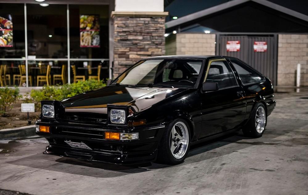 Toyota Sprinter Trueno AE86 – The legendary 'Tofu Delivery' car or 'Hachi-Roku' (86)