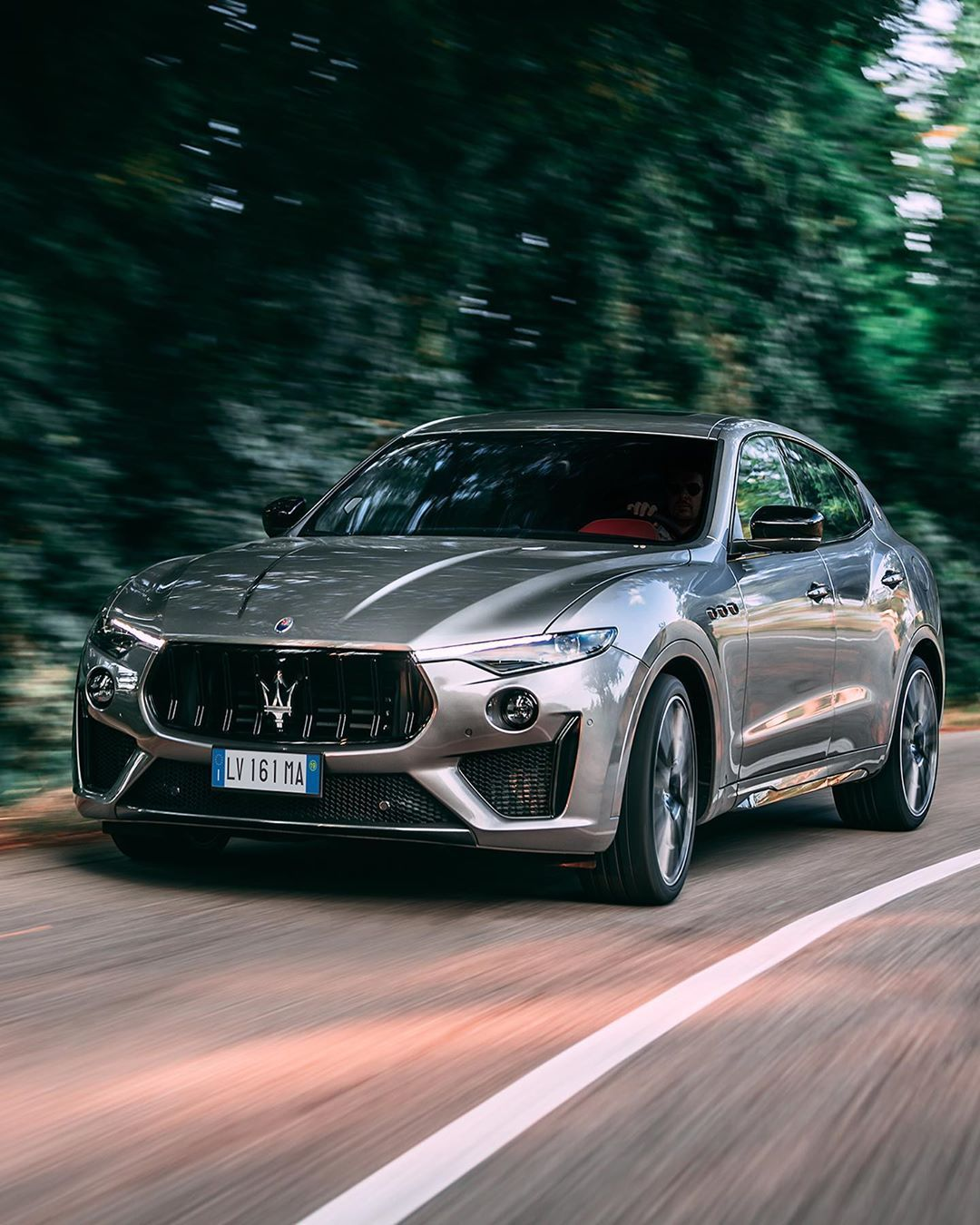 """Maserati on Instagram: """"A pleasure that starts with the eyes and intensifies with the ears. #MaseratiLevanteTrofeo"""""""