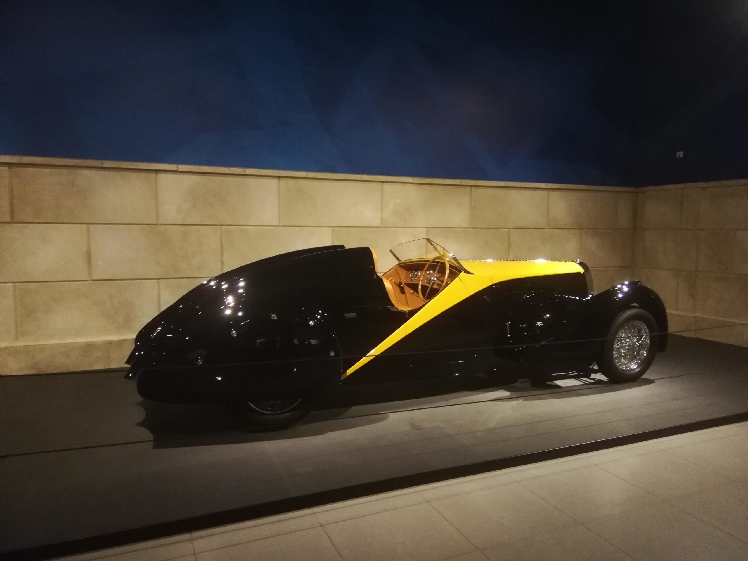 "1934 Bugatti Type 67 Roadster ""Grand Raid"" designed by Gangloff"