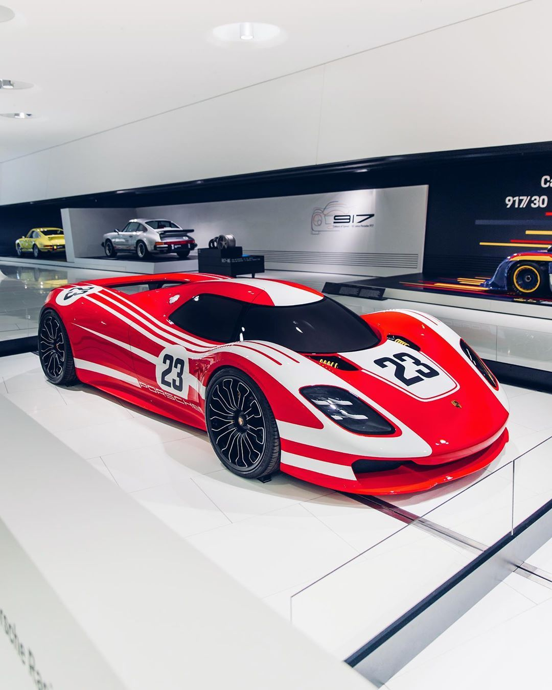 """Alex Penfold on Instagram: """"It would have been wrong to go through Stuttgart and not check out the 917 Concept Study. #porsche #917 #conceptstudy"""""""