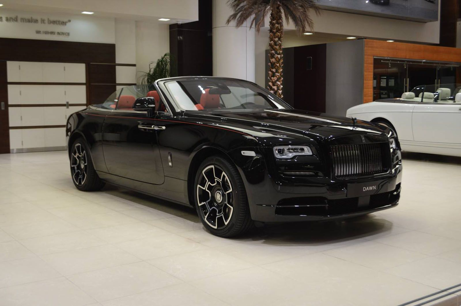 This Rolls-Royce Dawn Wears Its Darkness Like A Black Badge Of Honor | Carscoops