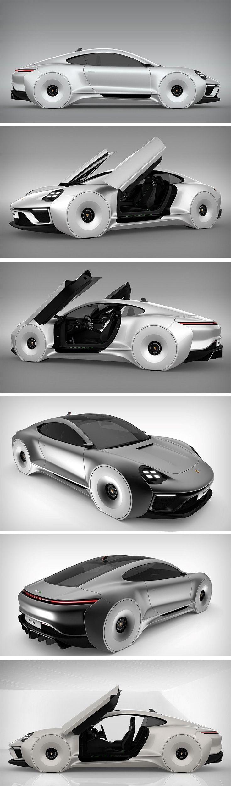 A Posh Porsche from the near future!