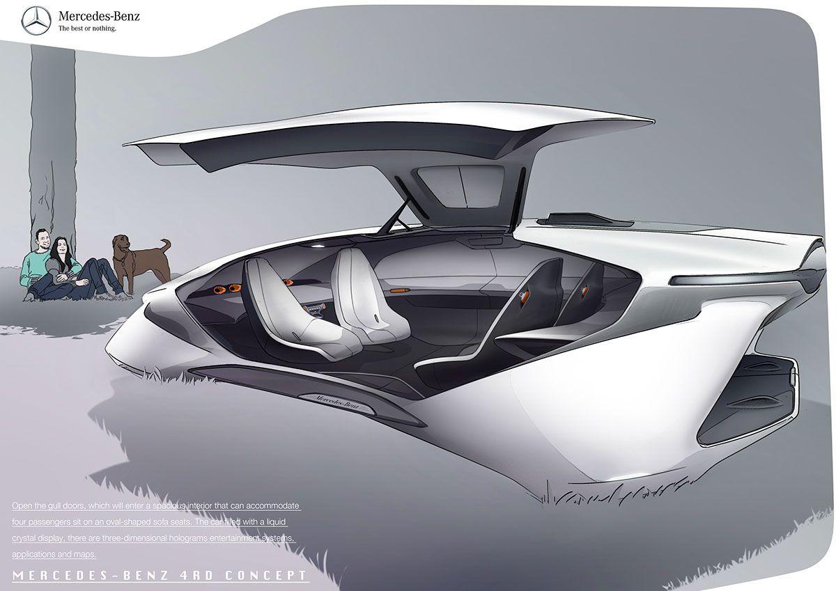 Mercedes-Benz 4 Rotors Concept