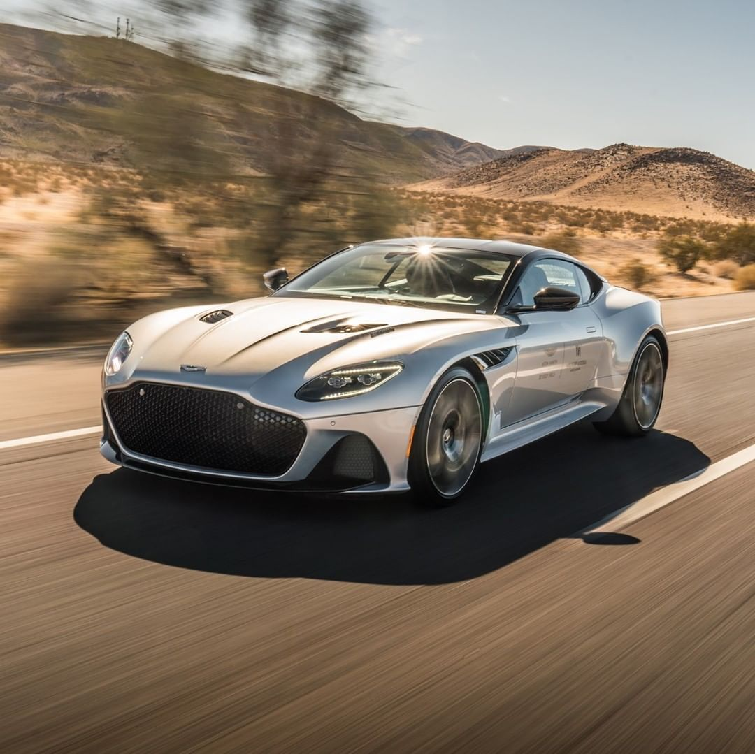 """Aston Martin on Instagram: """"Throughout the weekend, guests staying at @WALasVegas were invited to get behind the wheel of an Aston Martin and take off down the Vegas…"""""""