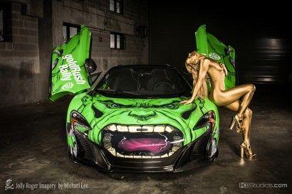 Super Hero Super Car Wraps – KI Studios