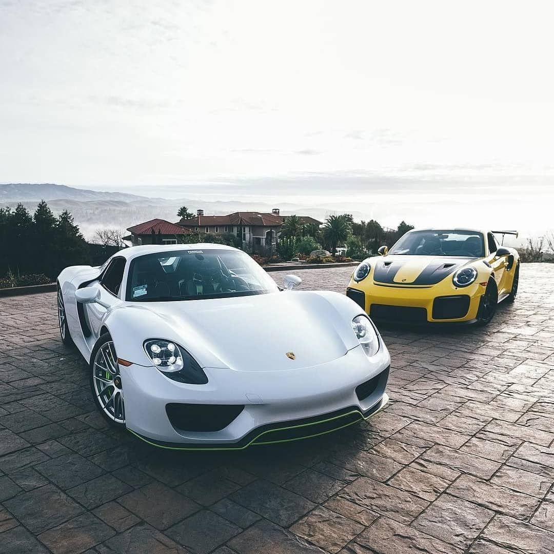 Porsche 918 Spyder / Porsche GT2 RS