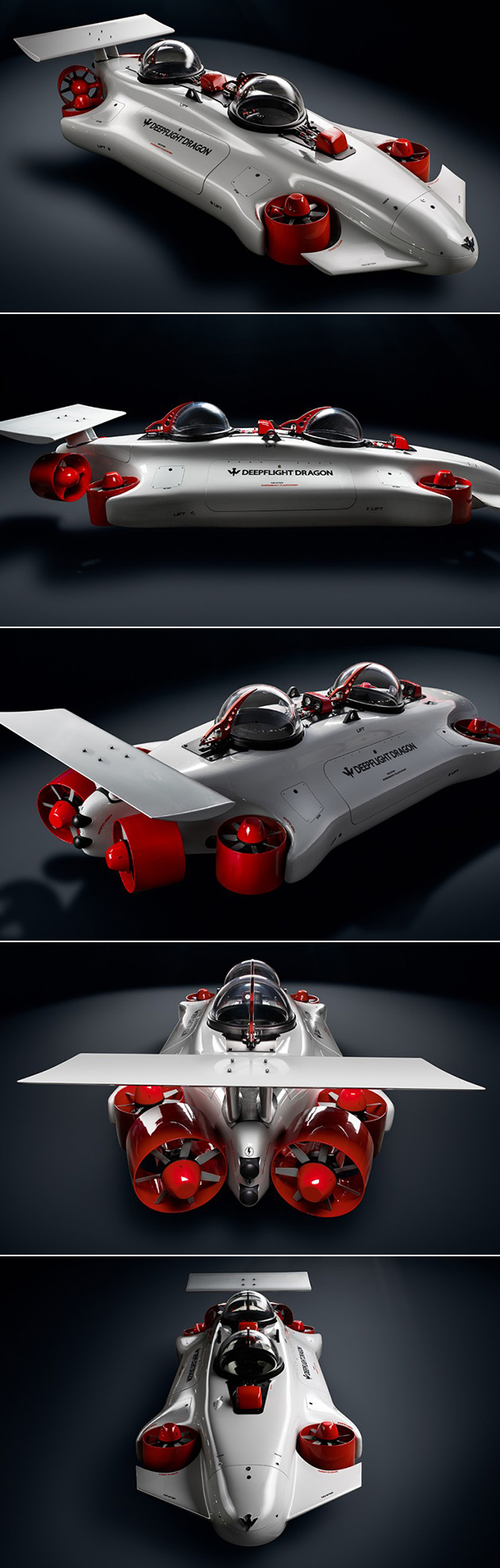Deepflight Dragon is an Electric-Powered Personal Submarine That Can Dive 400-Fe…