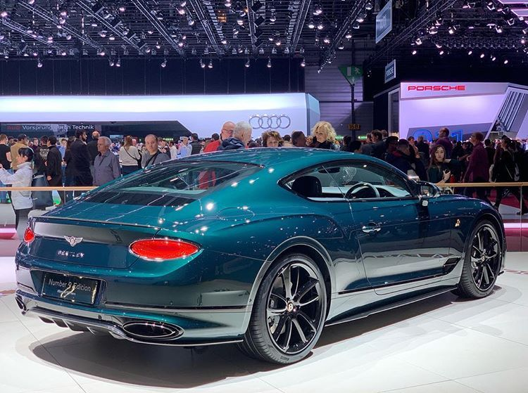 "Abdulla Alshamsi on Instagram: ""One of my favorites at @gimsswiss Number 9 Edition Bentley Continental GT #NewContinentalGT #Number9Edition"""