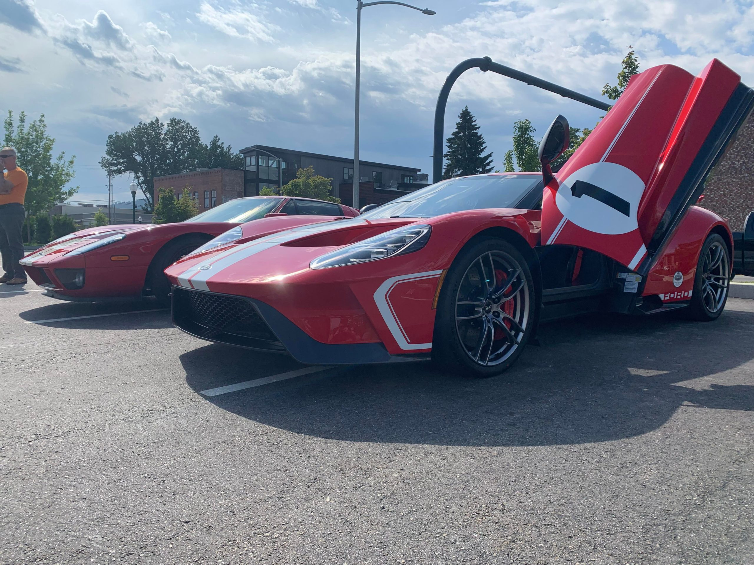 Ford GT and it's slightly older twin