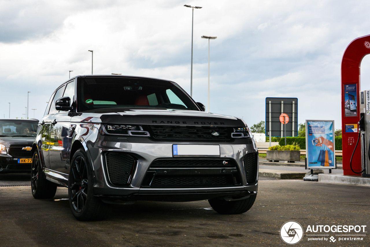 Land Rover Range Rover Sport SVR 2018 – 24 April 2019 – Autogespot