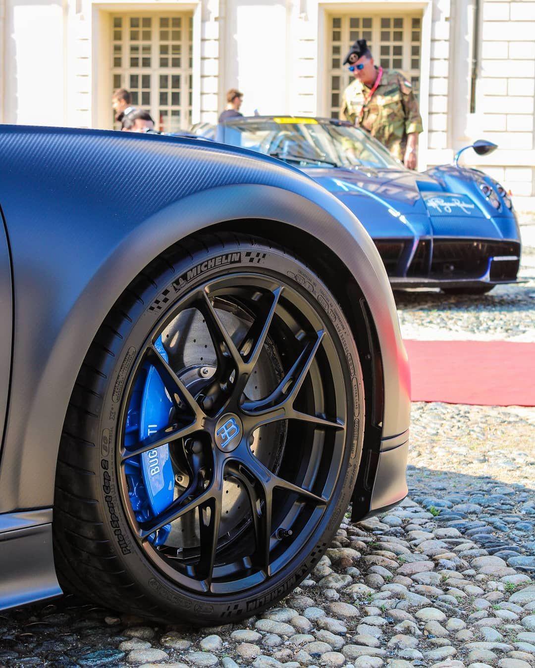 Bugatti vs. Pagani