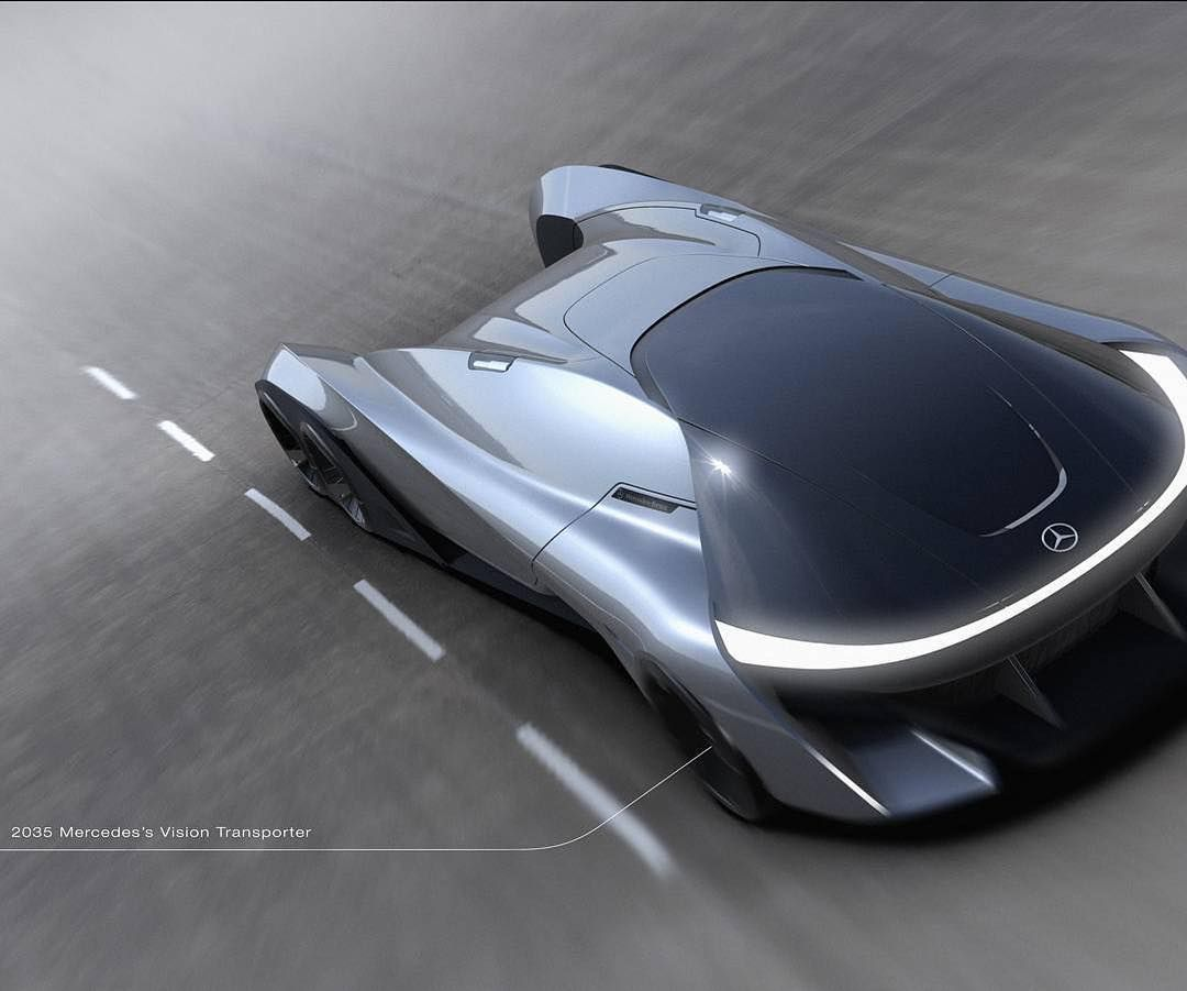 2035 Mercedes-Benz Vision Transporter by Bomin Kim Bo Rael.in.90 from Hongik Uni…