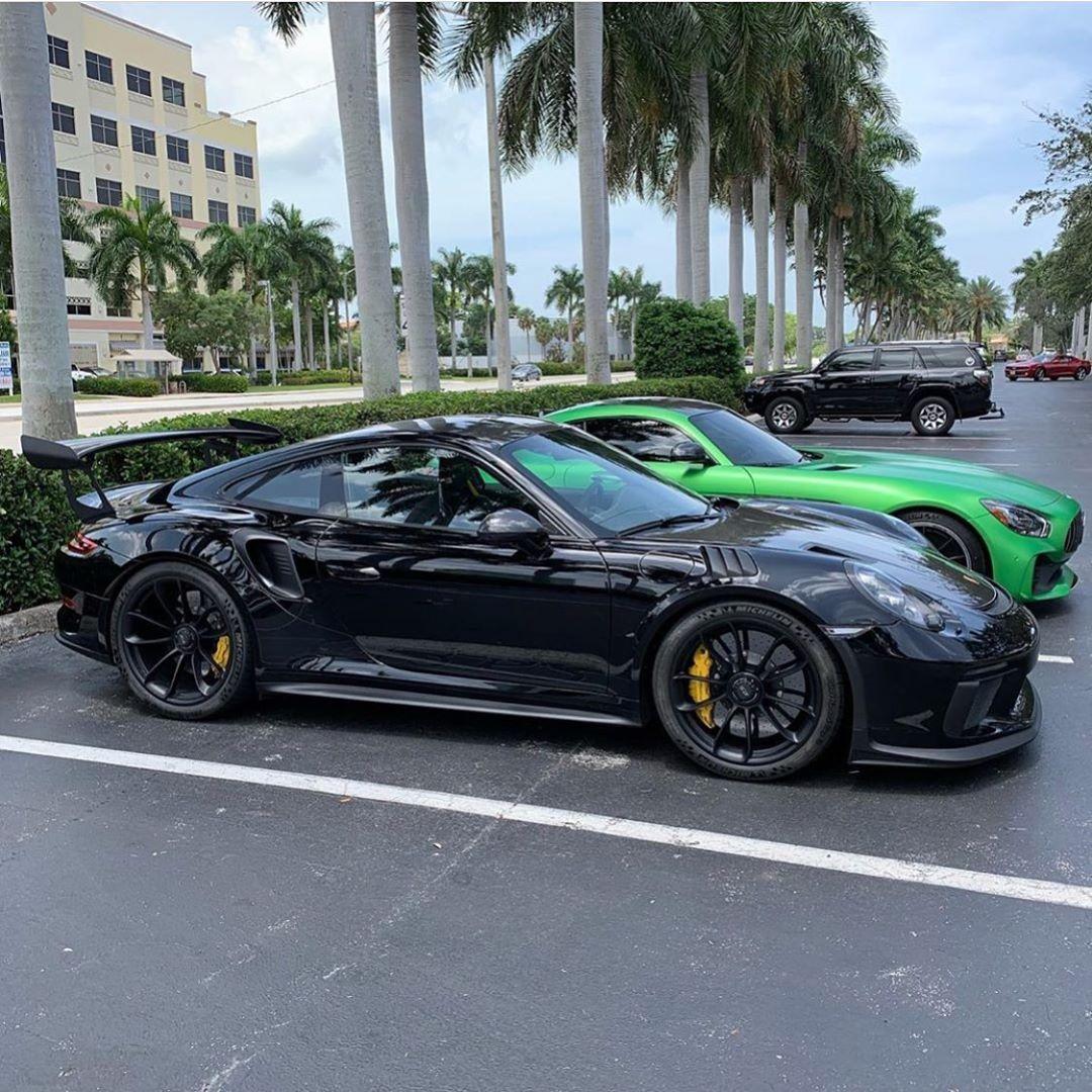 """PORSCHE POWERED ONLY on Instagram: """"991.2 GT3 RS or AMG GTR? ?: @t_schleicher"""""""