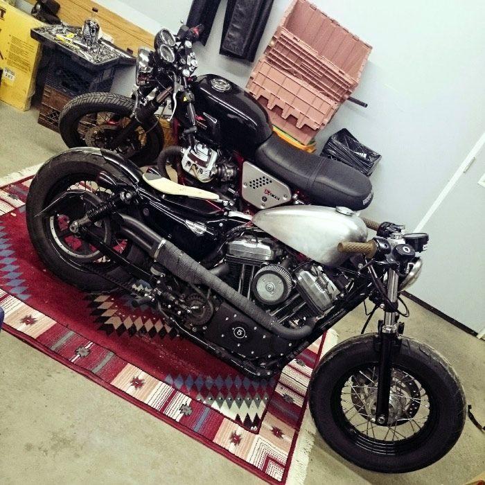 Michael Hatton's Harley-Davidson Forty Eight – ninetynineco   Custom Motorcycle …
