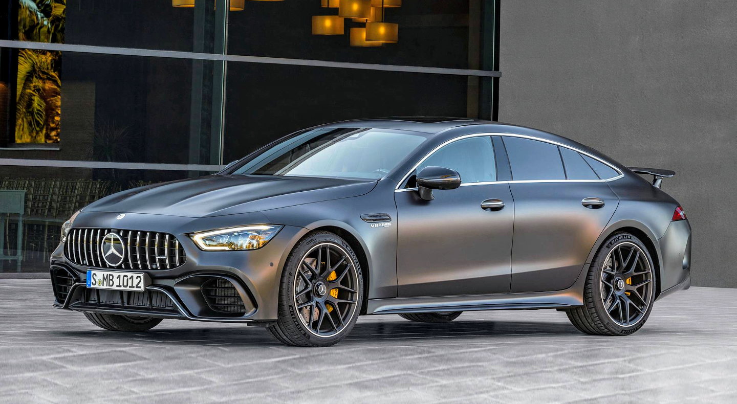 Oddly underated Mercedes AMG gt 63