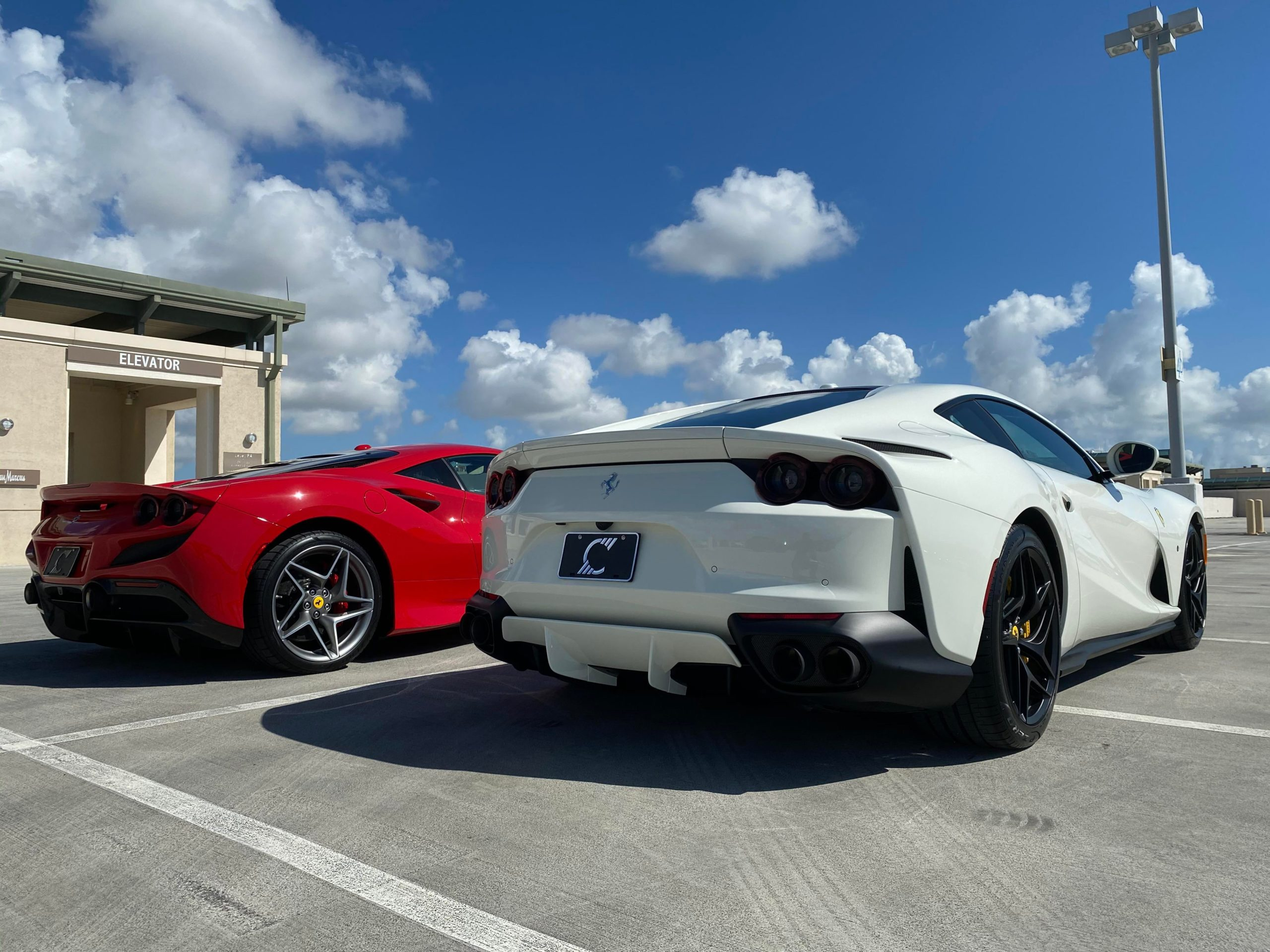 2020 F8 Tributo and 2019 812 Superfast