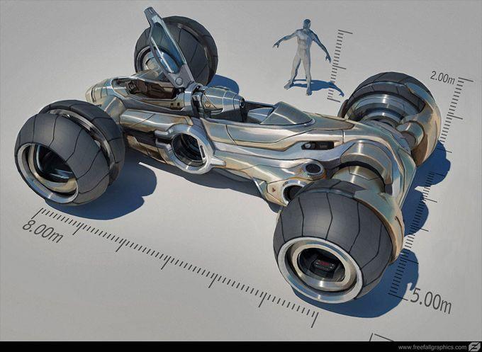 Mike Hill | Concept Art World