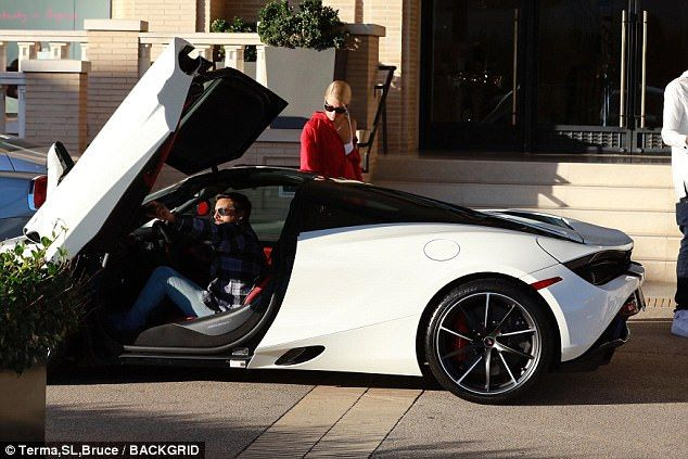 Scott Disick and Sofia Richie shop together in Beverly Hills