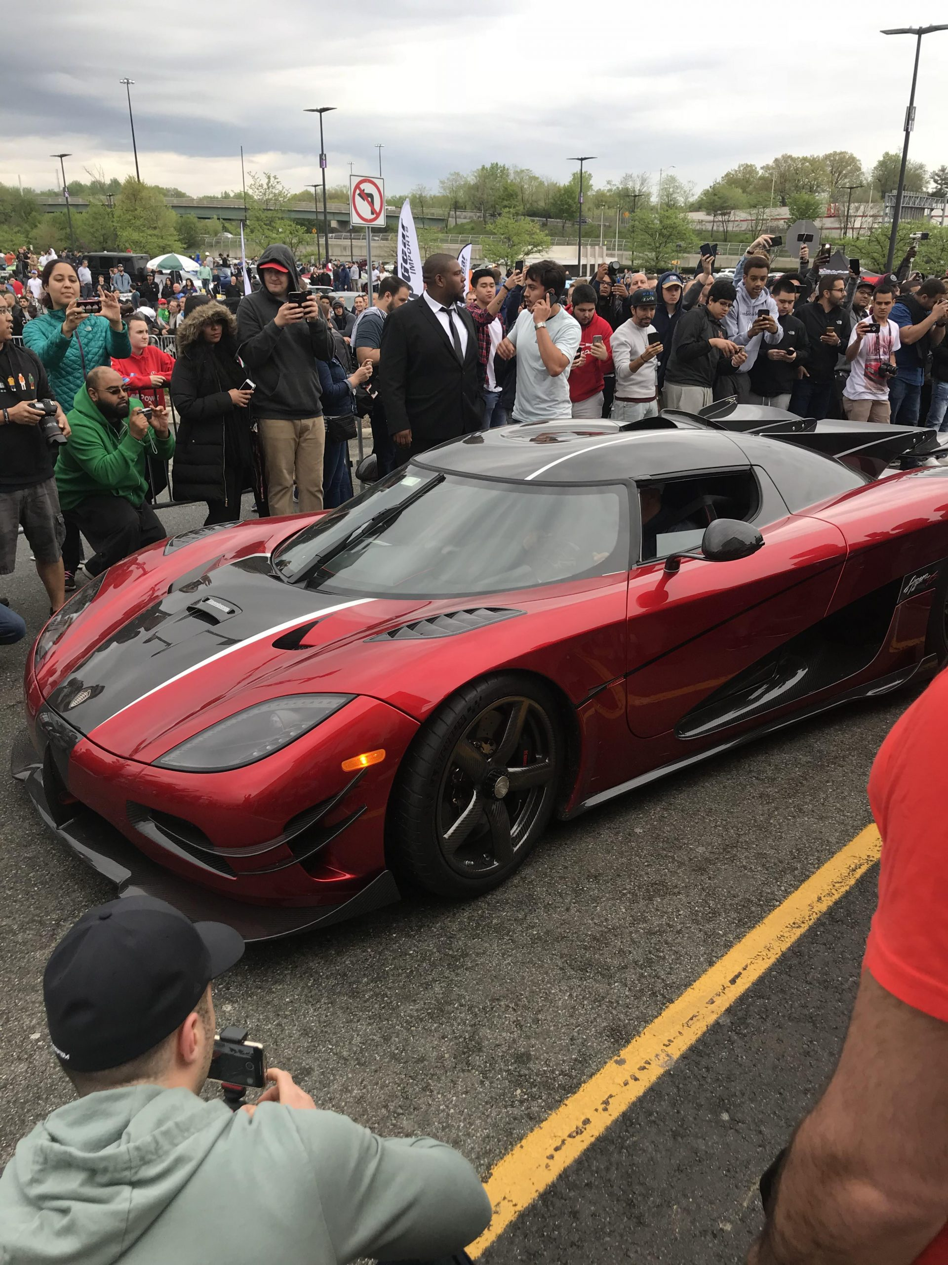 Seeing a Koenigsegg for the first time