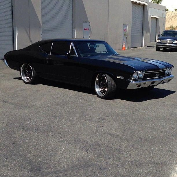 #BecauseSS 1968 chevelle AJ McLean's pro touring LS powered 68 Chevelle SS tripl…