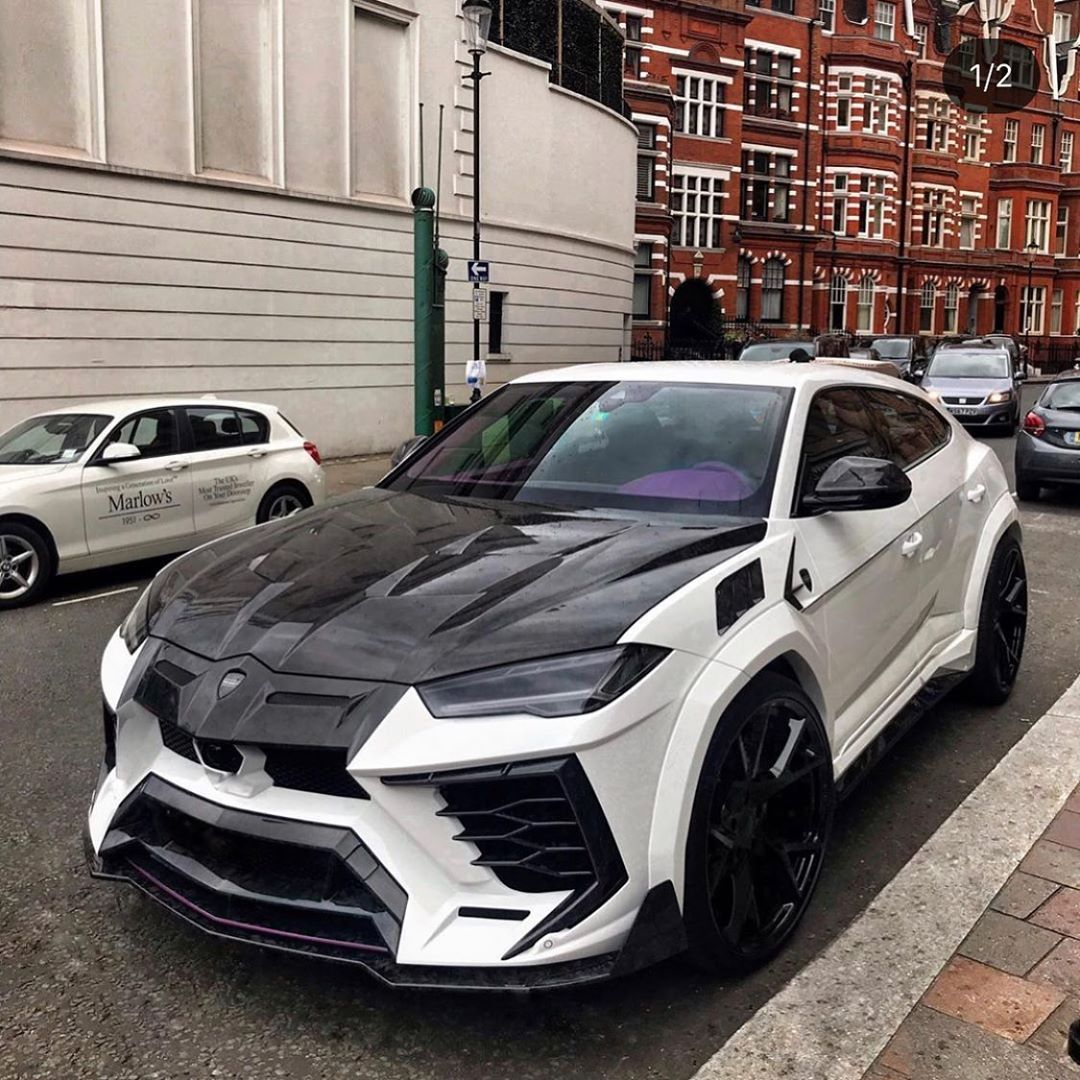 """SupercarsofLondon on Instagram: """"Mansory Lamborghini Urus?Not for everyone but aggressive af? Shot by @tim.spot #mansory #carbon #lamborghini #urus #lambo #sol…"""""""