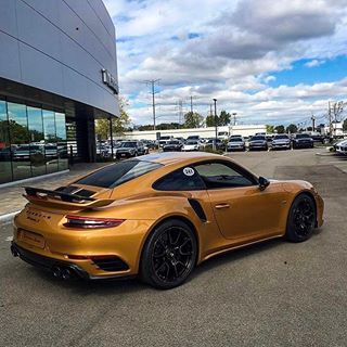 """Porsches_Worldwide on Instagram: """"911 Turbo S Exclusive series. 1 of 500 to be made; do you think it's worth the extra price tag? @odi_productions"""""""