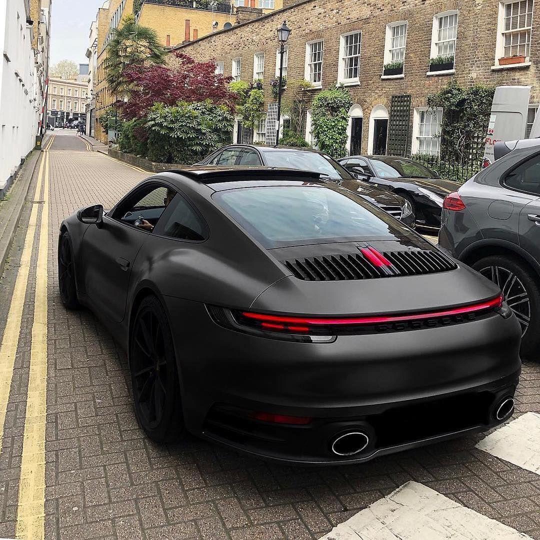 "Gabriel Novo (Eurotek) on Instagram: ""New Porsche 992 looking lethal! Describe this car with one emoji! 💀  #Porsche #911 #992 #Porsche992 #Porsches #car #carinstagram #supercars…"""