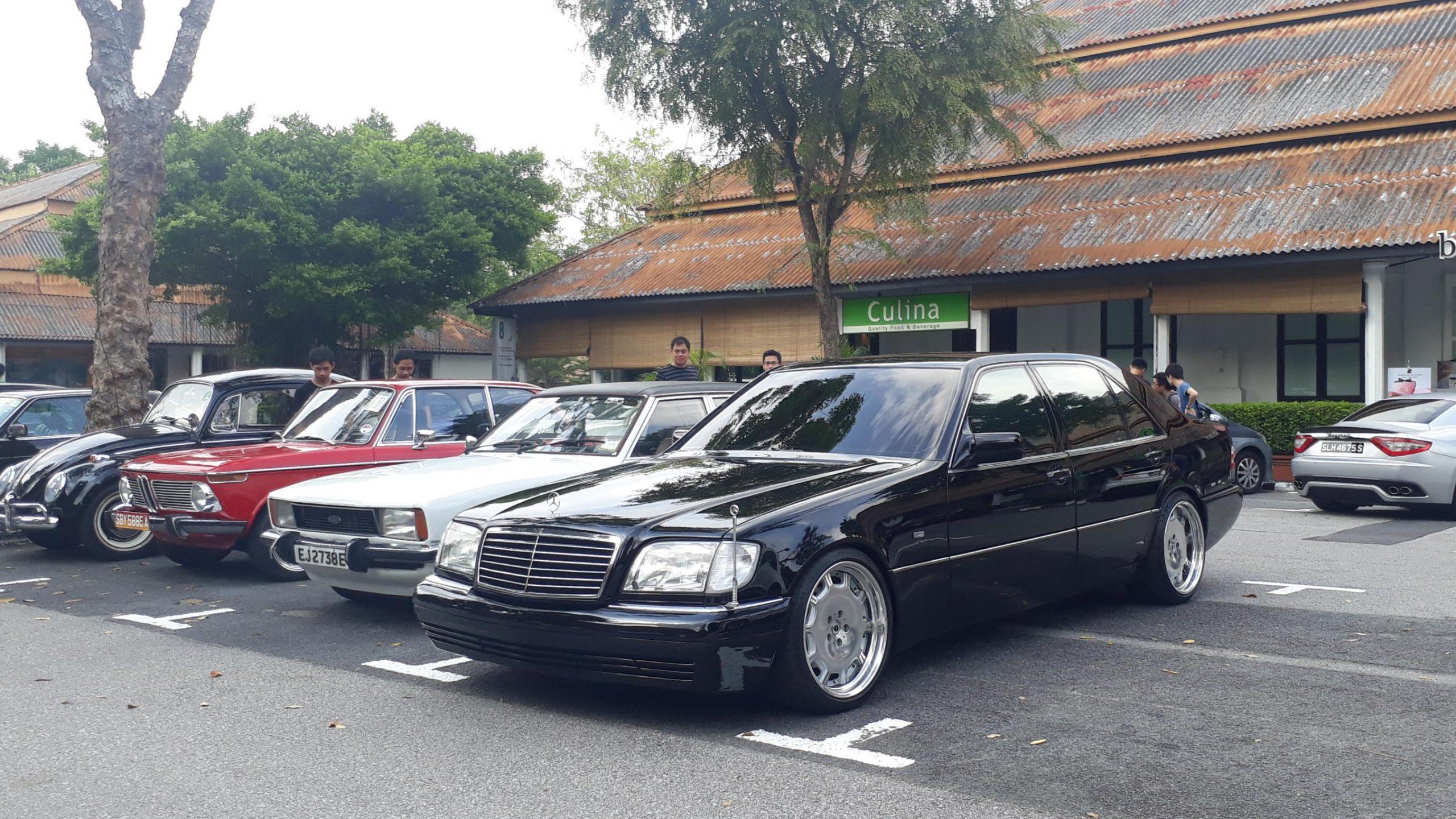 Mercedes W140 S600. Boss af