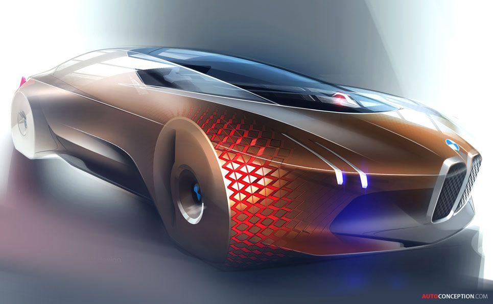 BMW Unveils Vision Next 100 Concept Car