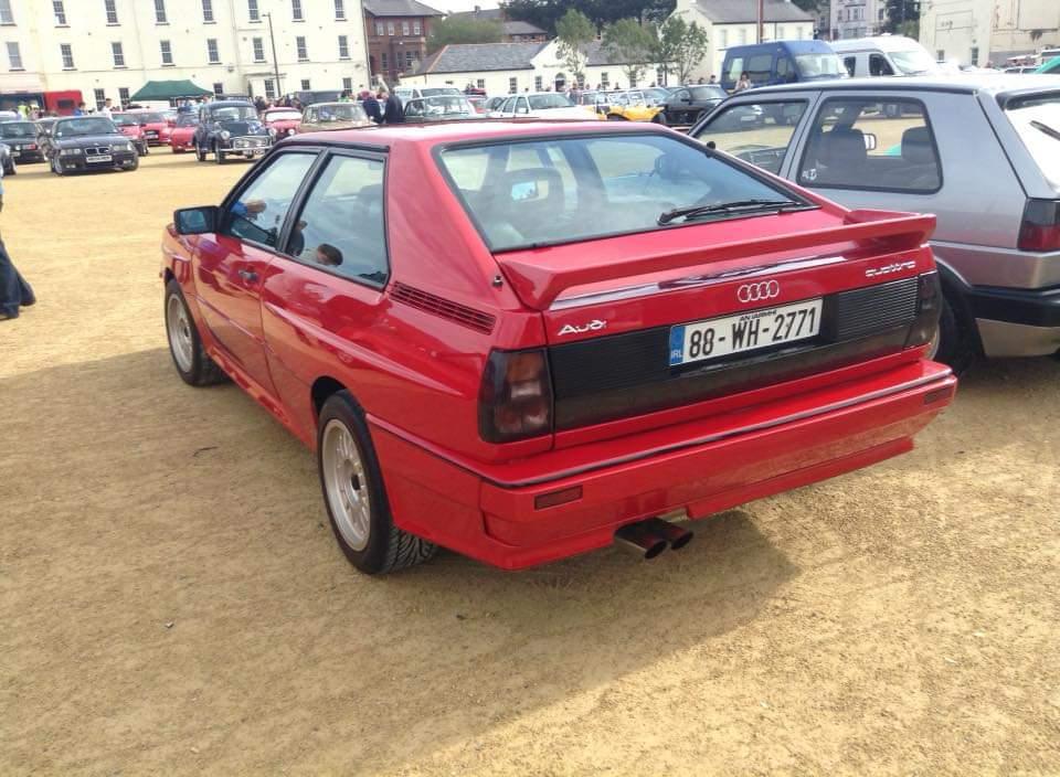 Audi Quattro. Group B Legend