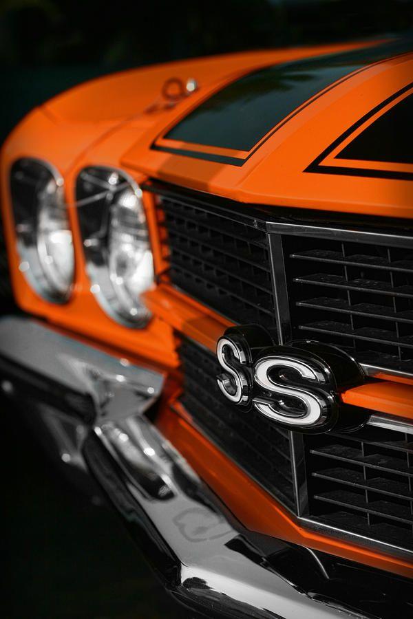 1970 Chevelle SS396 SS 396 Orange by Gordon Dean II