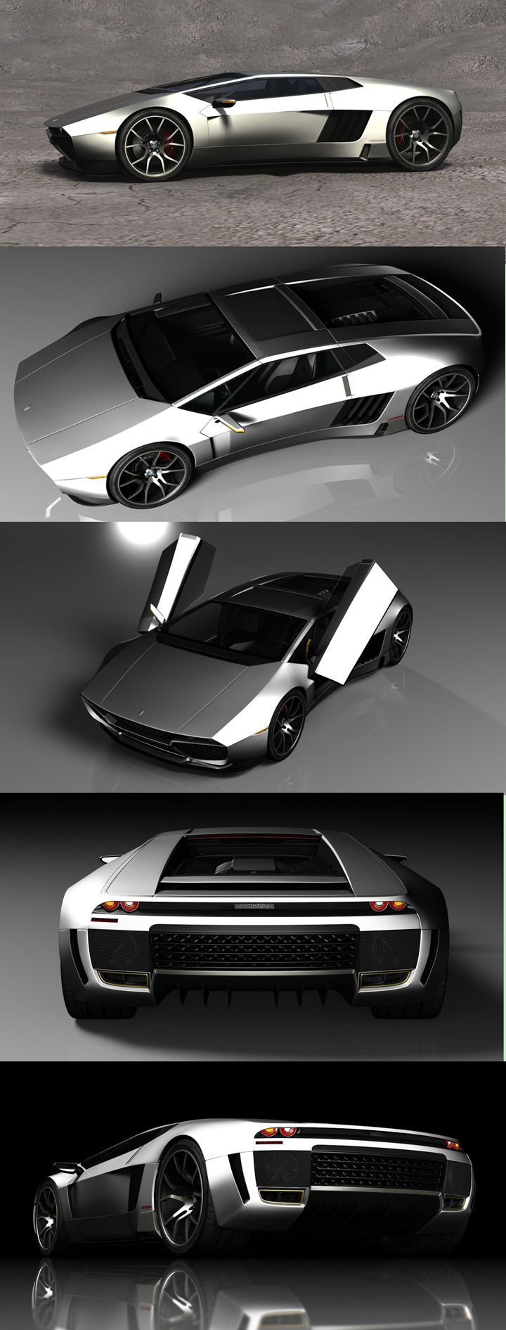 ♂ The Mangusta Legacy concept is a reincarnation of the classic De Tomaso Mang…