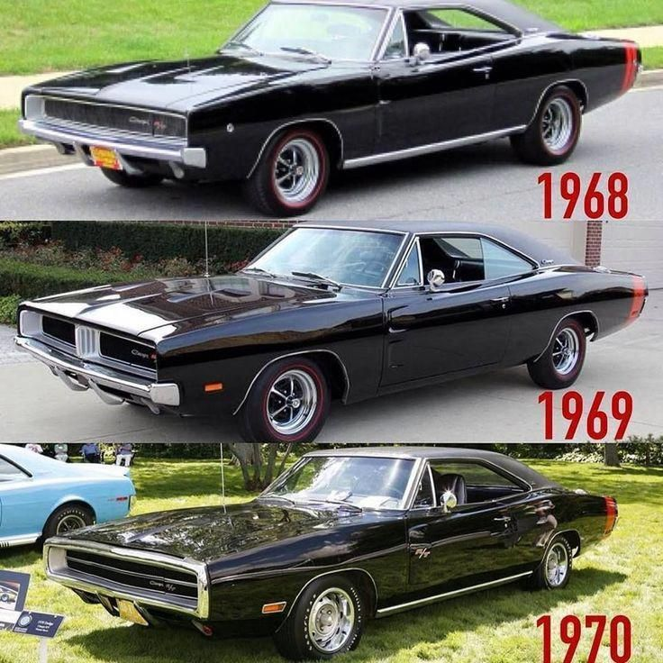 """All three """"2nd Generation"""" Dodge Charger R/T models: 1968-70. – cars – #2nd …"""