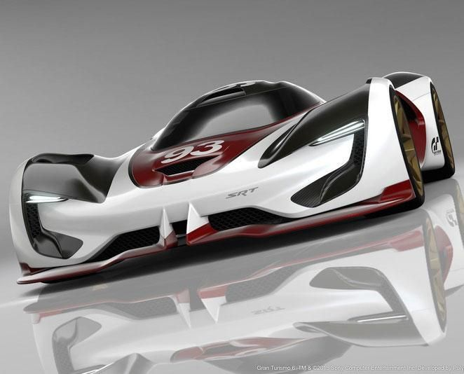 SRT Tomahawk Vision Gran Turismo is a virtual hypercar worth drooling over