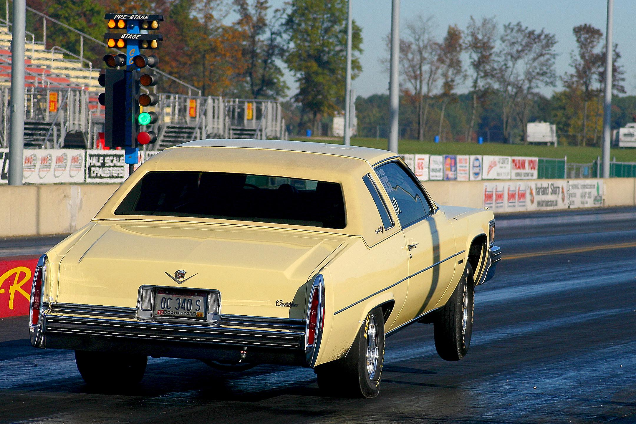 9 second Coupe De Ville not your grandmothers Caddy