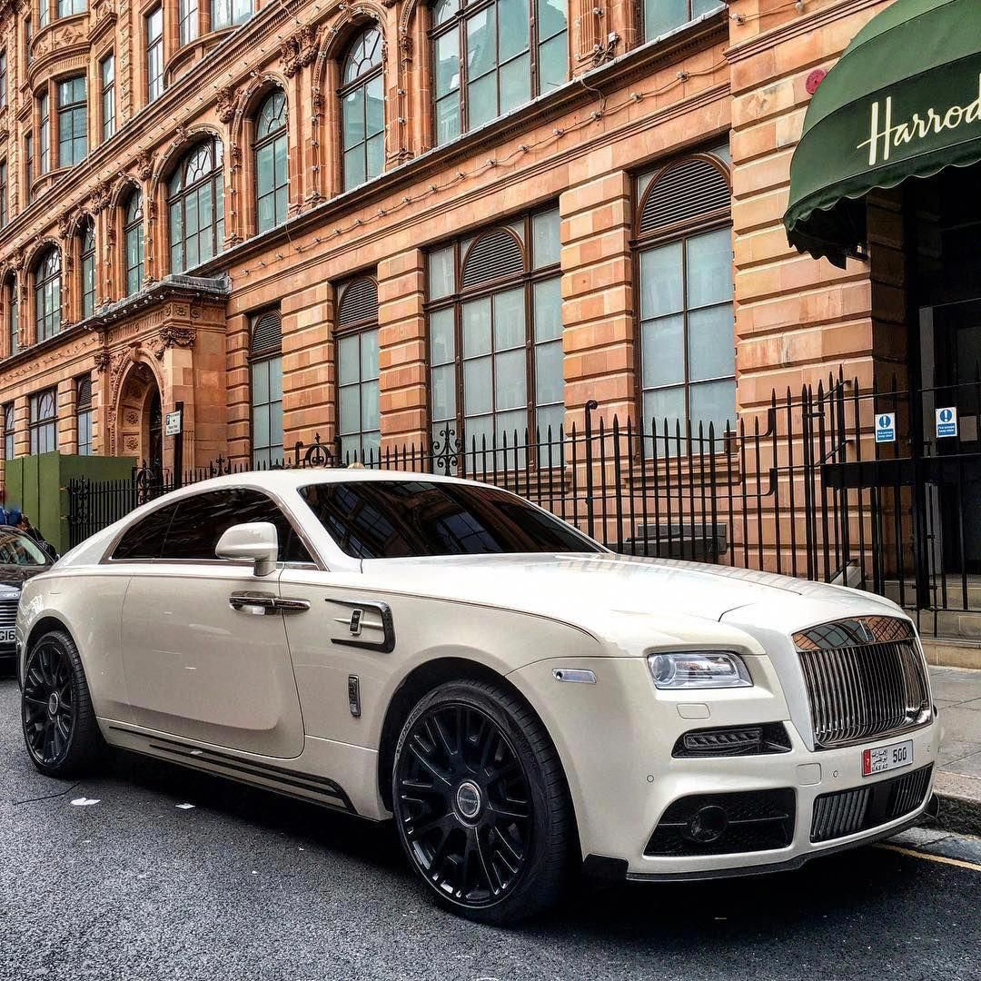 Mansory Rolls Royce Wraith #RollsRoyceClassicCars