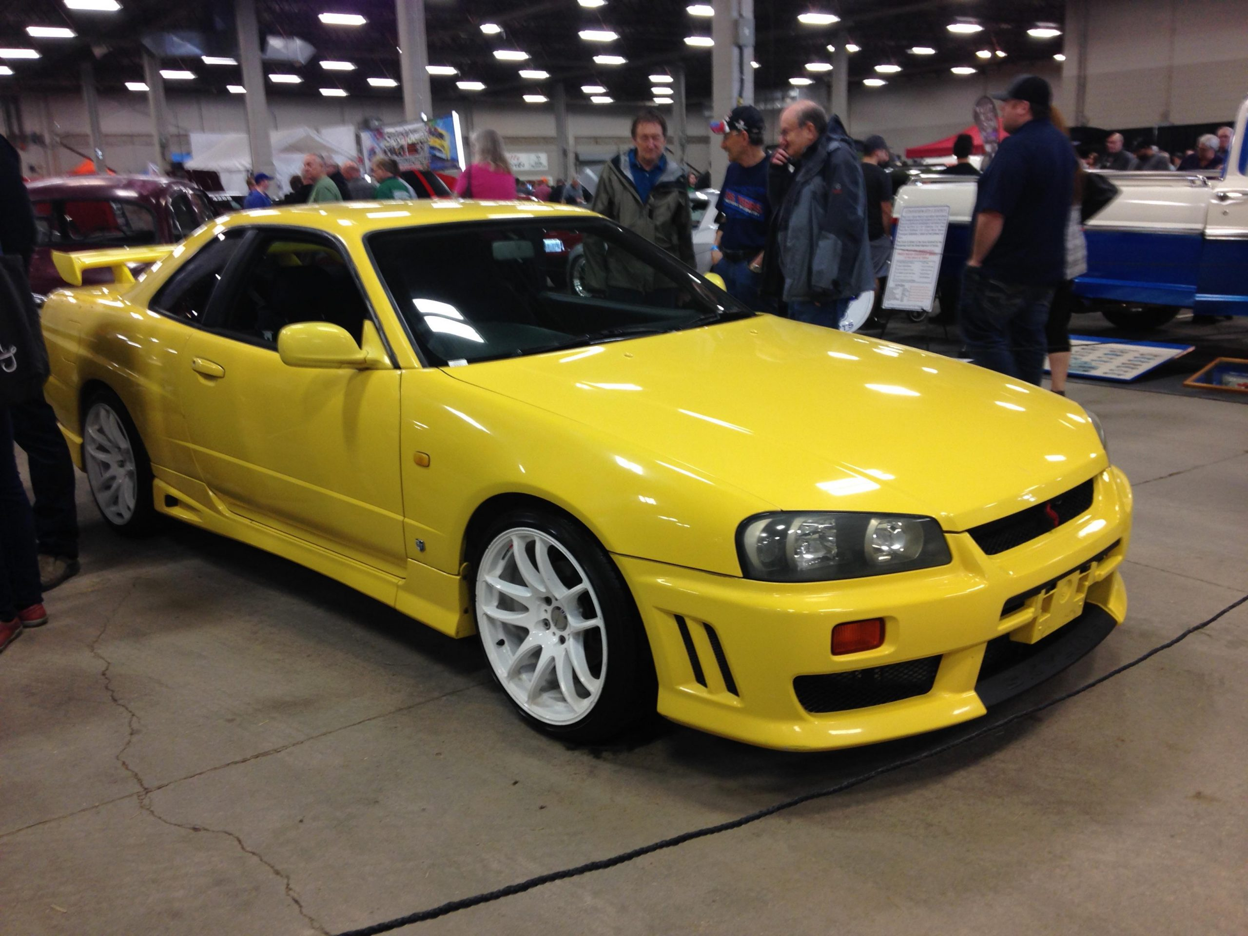 Skyline R34 – pic i took at a car show a long while back