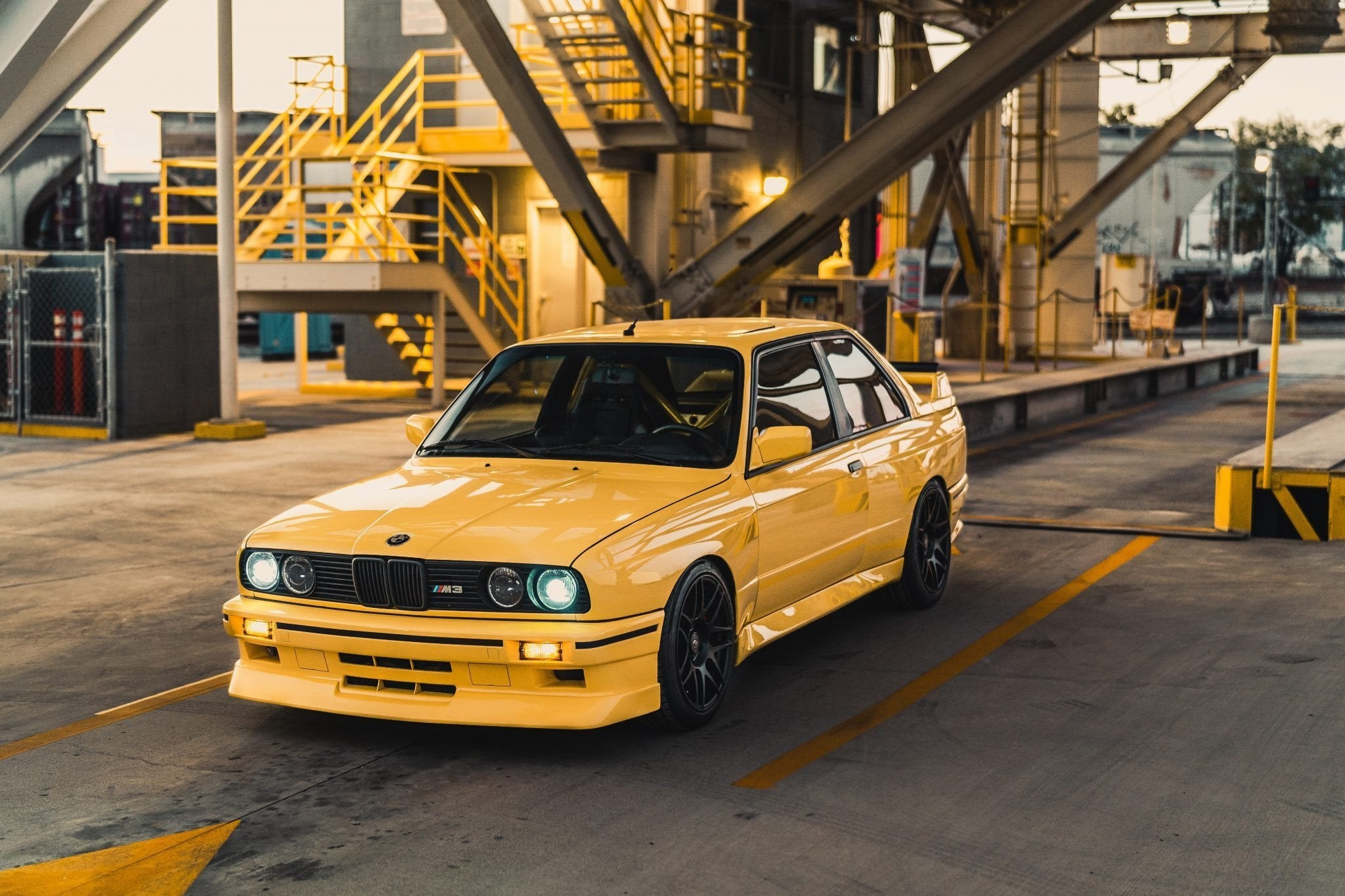 M3 E30 with S50 B32 engine (the 6L of the E36 M3)