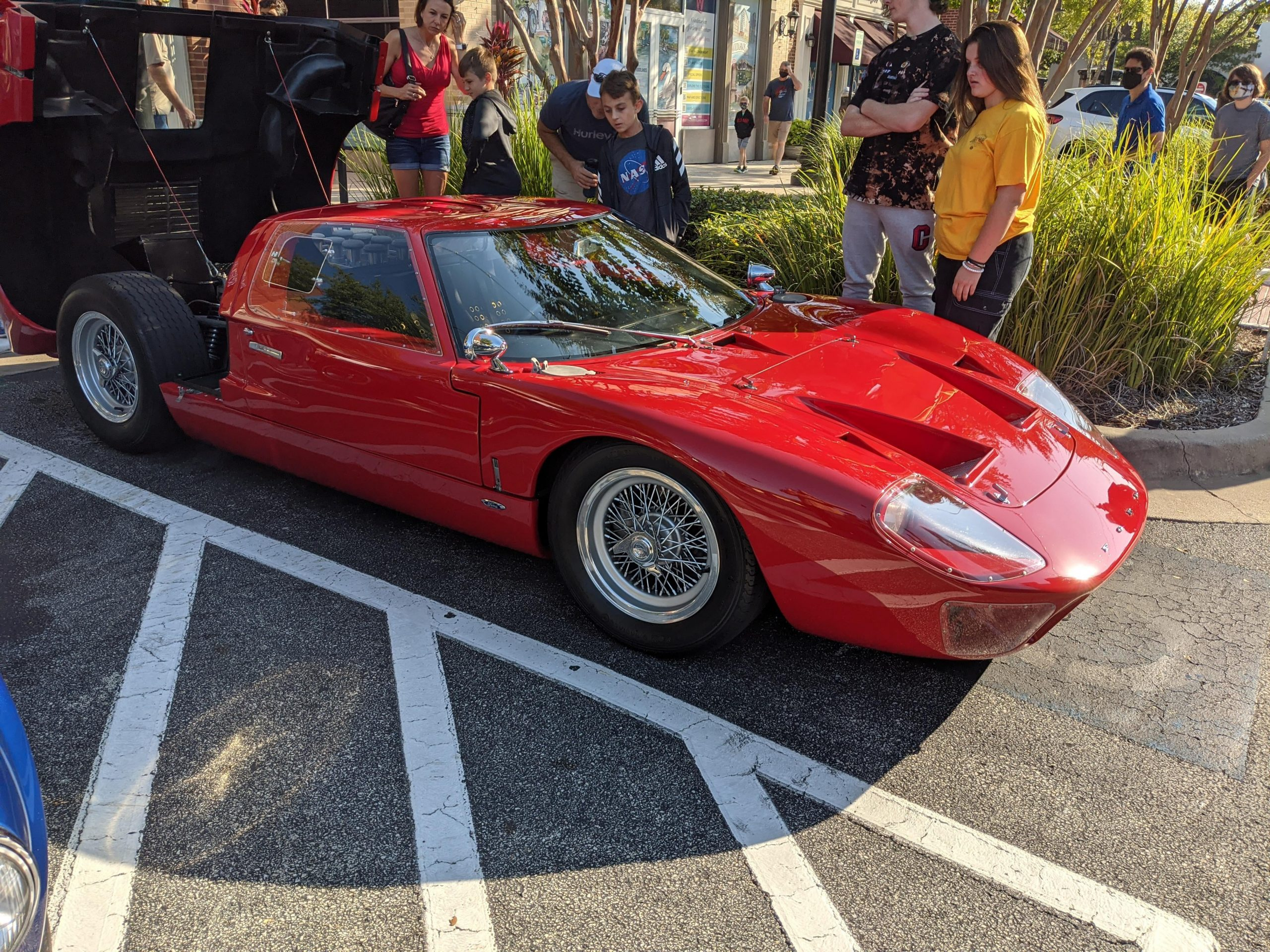 not a clone! One owner brought 3 to cars and coffee. Gt40, ac cobra and 427 cobra.
