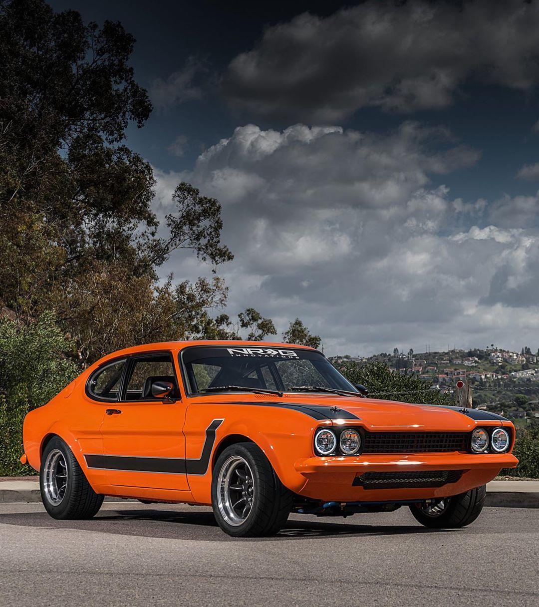 1974 Ford Capri V8.