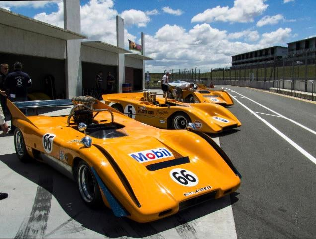 Mclaren Canam's from the golden age of racing